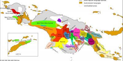 Papua Nya Guinea Map Kartor Papua Nya Guinea Melanesien